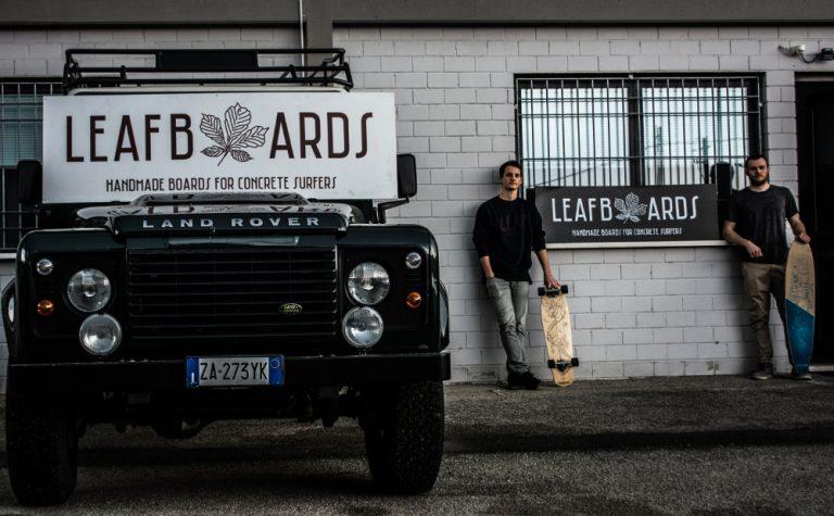 Leafboards longboard shop italia